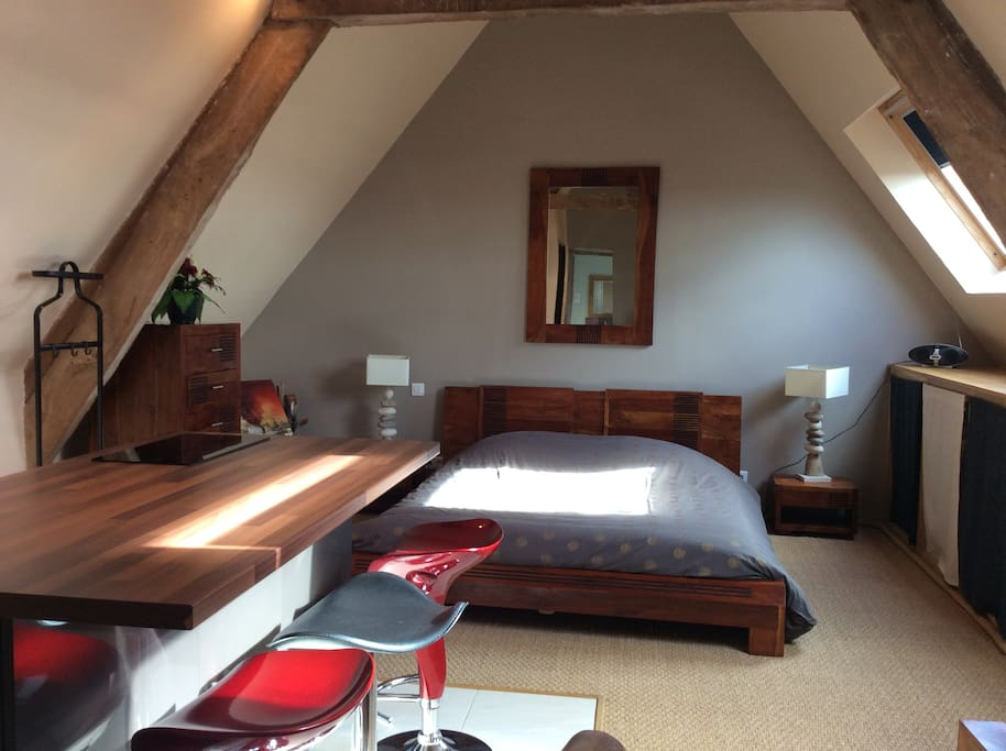 Suite maspaline chambres d 39 h tes louer saonnet for Chambre d hotes basse normandie