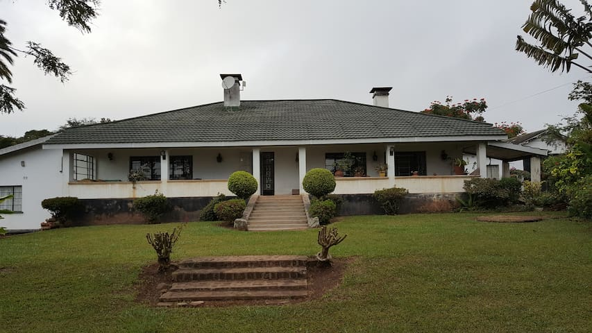 Old colonial house close to Blantyre