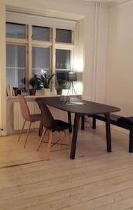 Modern apartment with great location - København
