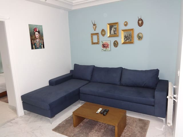 Appartement intime à Tunis