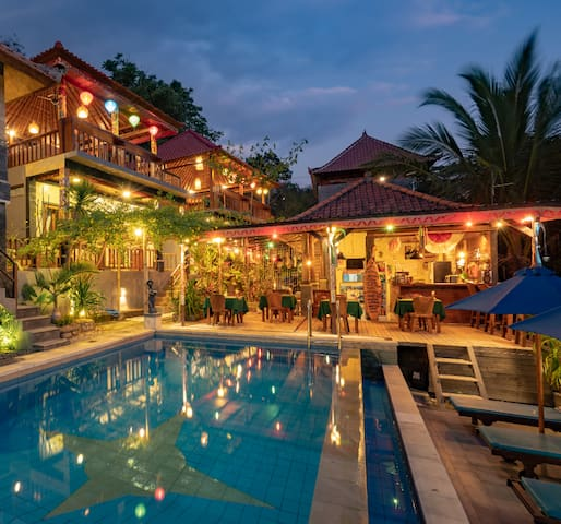 Breeze Villa  Nusa Lembongan 1 minute to the beach