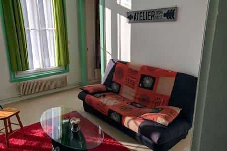 Elbeuf - 60 m² en centre ville avec Wifi + Netflix