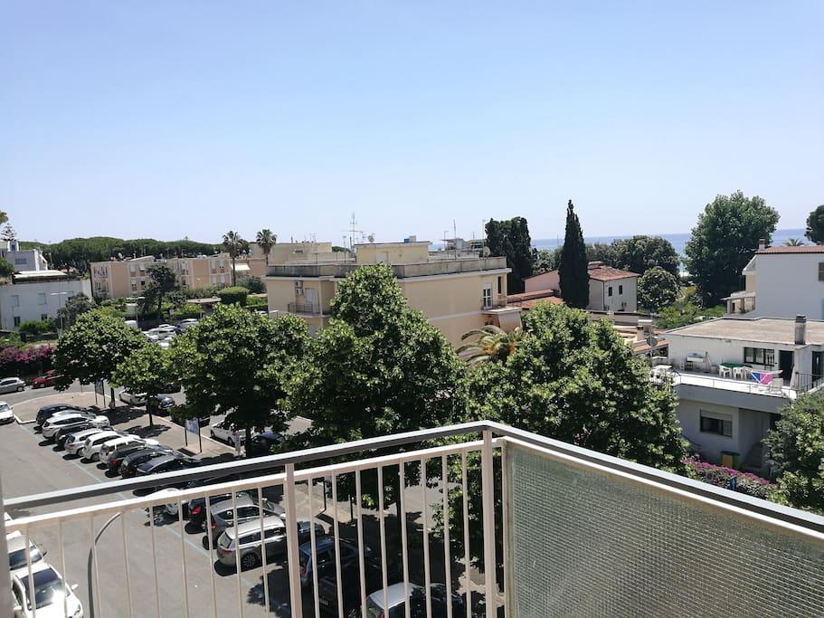 Balcone spazioso e panoramico