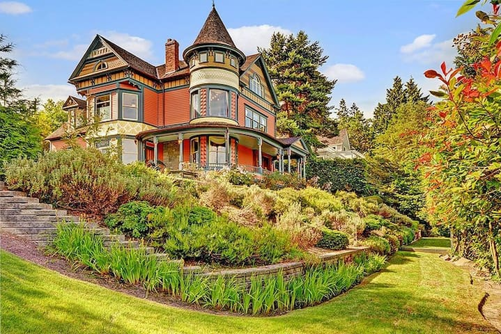 Classical house/unparalleled Lake Washington view - Seattle - Villa