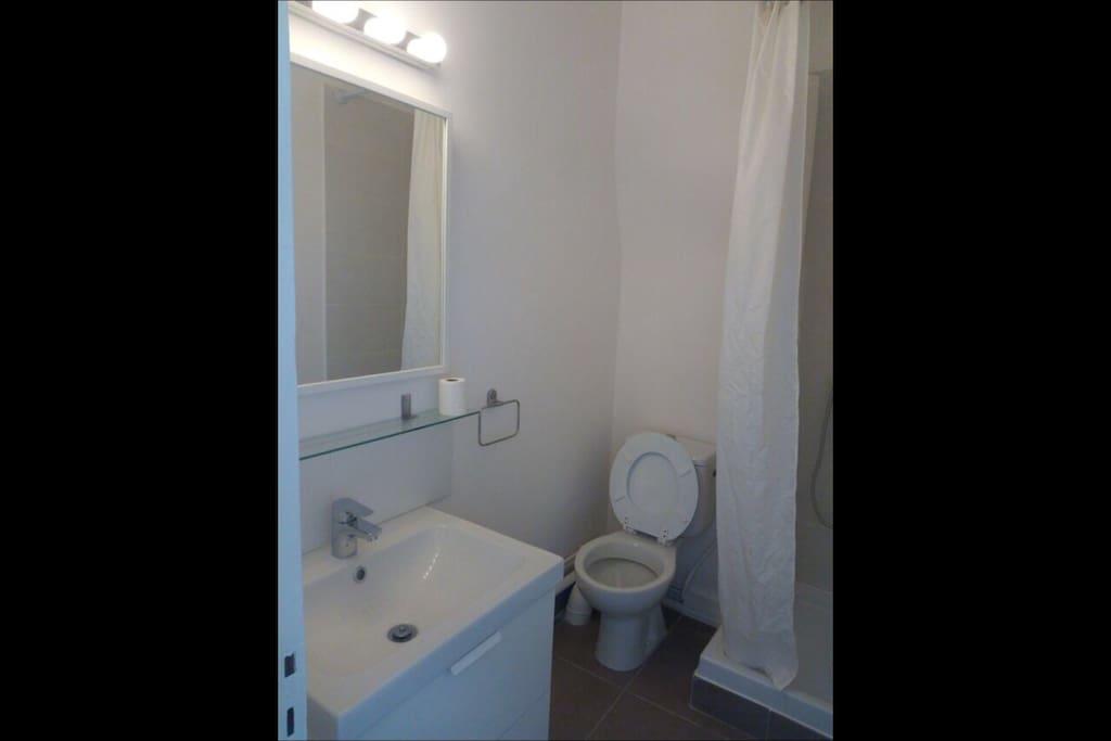 Salle de bain ( bathroom)