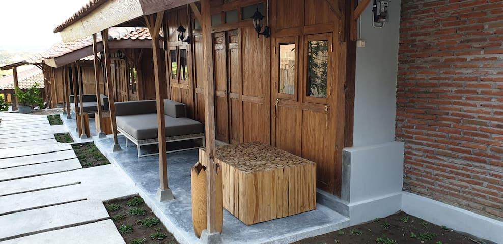Villa Kayu Yogyakarta Ricefield View, Cottage #3