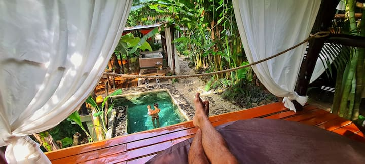 CANAIMA CHILL HOUSE, Eco Chic Suite Room 4 - 2pax