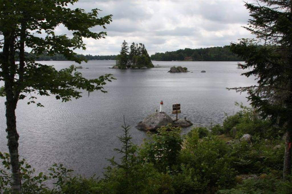 View of the island.