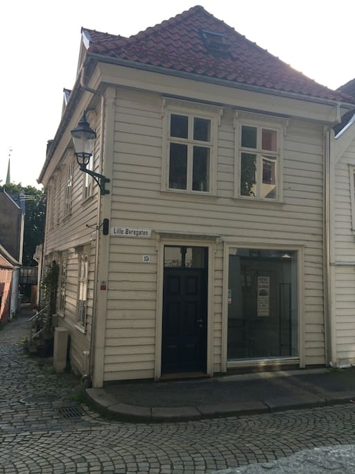 Our nice litle 18'th century house has a small art gallery in the ground floor.