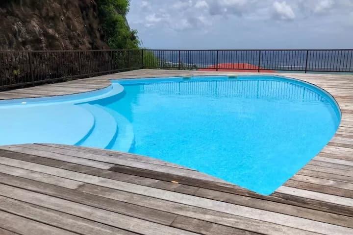 ❊NEW❊Miti  Nui❊vue 180°- piscine - fare pote'e❊