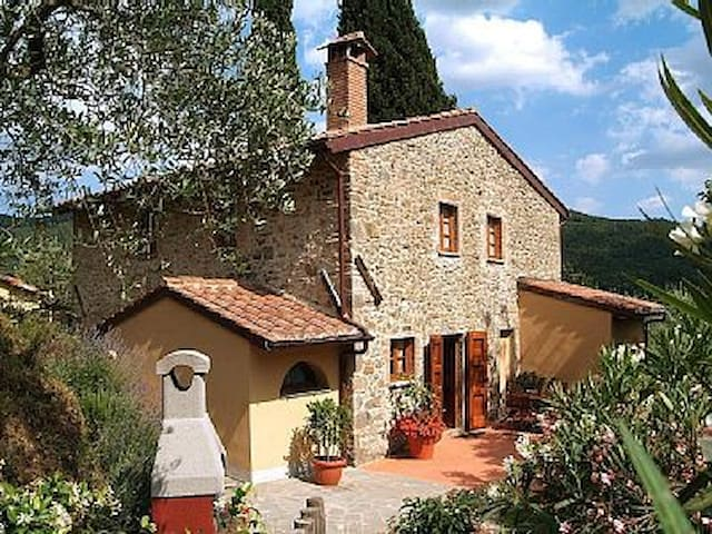 Villa laying on Tuscany hill - Pietrabuona - Ev