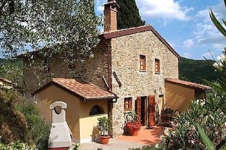 Villa laying on Tuscany hill - Haus