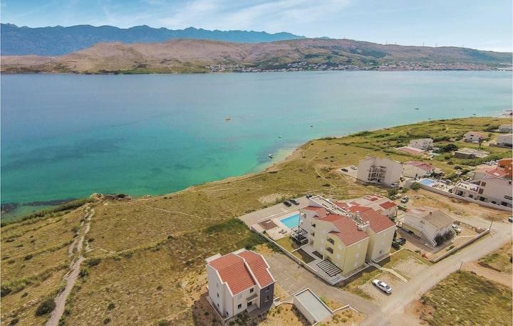 Nice home in Pag with WiFi and 2 Bedrooms