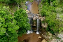 Sheldrick Falls just a 20 minute drive from us.