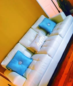 Couch in the living room - Riverdale Park