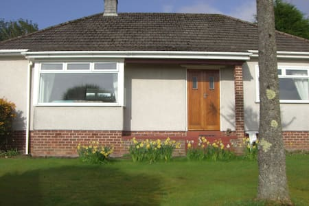 Peaceful with sea views and local amenity's.
