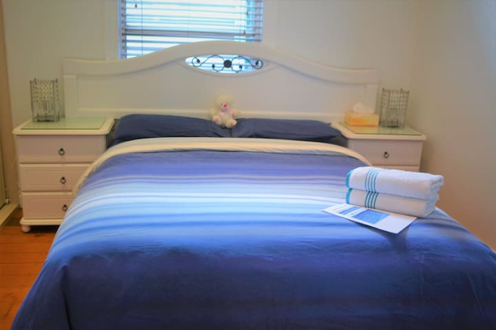 2 Queen bed rooms central location - Wickham - Ev