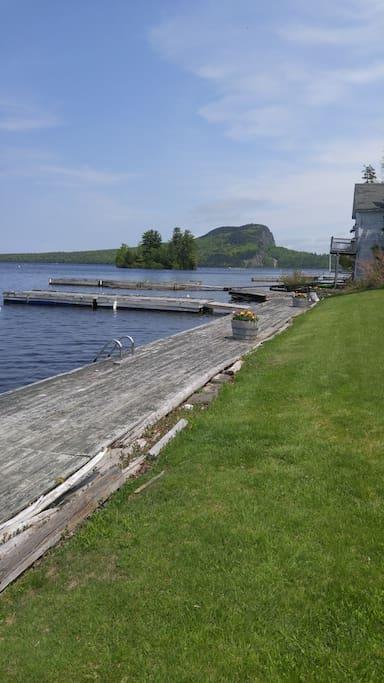 120' Boardwalk - Private Boat Dock (up to 30' boat)