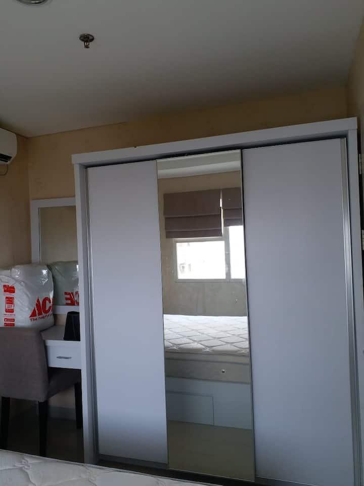 Trivium lippo cikarang cheap & cozy apartment
