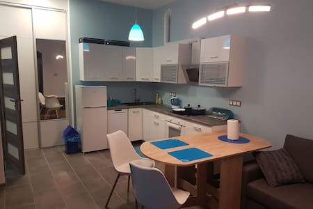 Apartament Niebieski nad stawami