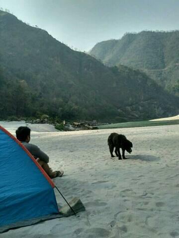 Rishikesh Camp Byasi: MHETCLUB com - Chandpur - Tenda de campanya