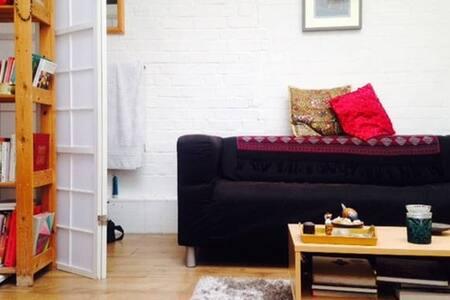 Cosy, cute, unpretentious studio flat, Shoreditch - Londres - Pis