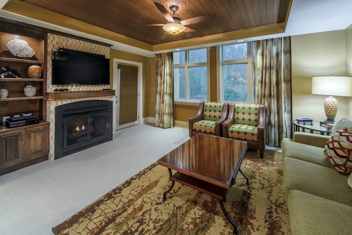 Relaxing Retreat! Spacious Villa with Amazing Amenities   Gas Fireplace