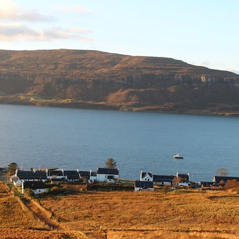 Waternish is a South Westerly facing peninsula at the North of Skye