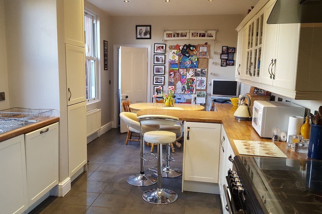 Kitchen with dishwasher and double oven