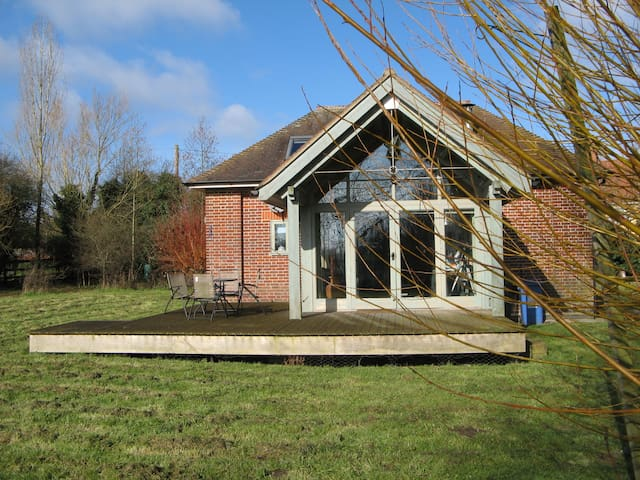 The Pump House, a quirky conversion in Dedham Vale
