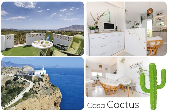Casa Cactus🌵 Romantic ❤ 360 view Rooftop Eco Loft