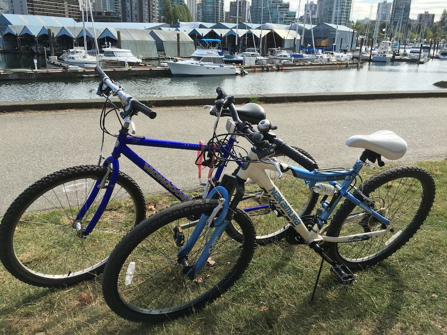 I have 2 bikes available to use :)