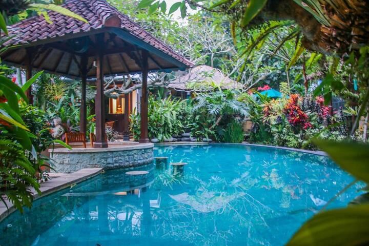 Saba Harmony Villa with pool near keramas beach