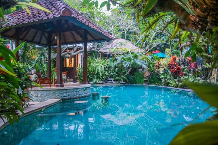 Saba Harmony Villa with pool near keramas beach