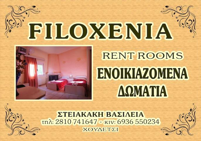 Filoxenia apartments Houdetsi Crete - Choudetsi