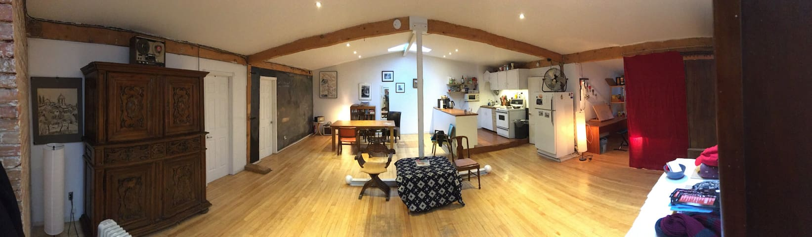 Place Phillips loft, private room