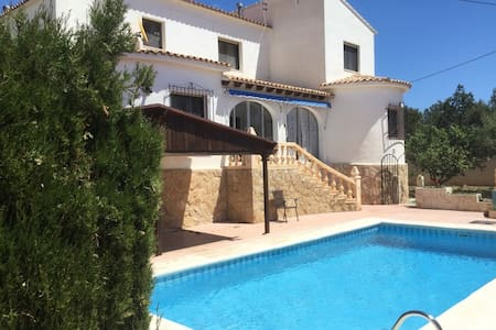 Villa with private pool and 7mins walk from beach - Calp
