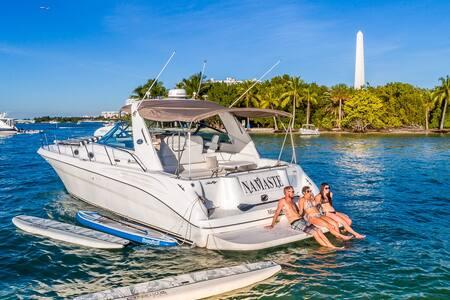 NAMASTE Yacht '44 Sea Ray Sundancer - Miami Beach - Barco