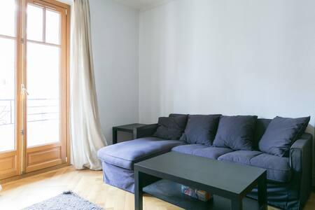 Nice Apartment @ Eaux Vives - Женева - Квартира