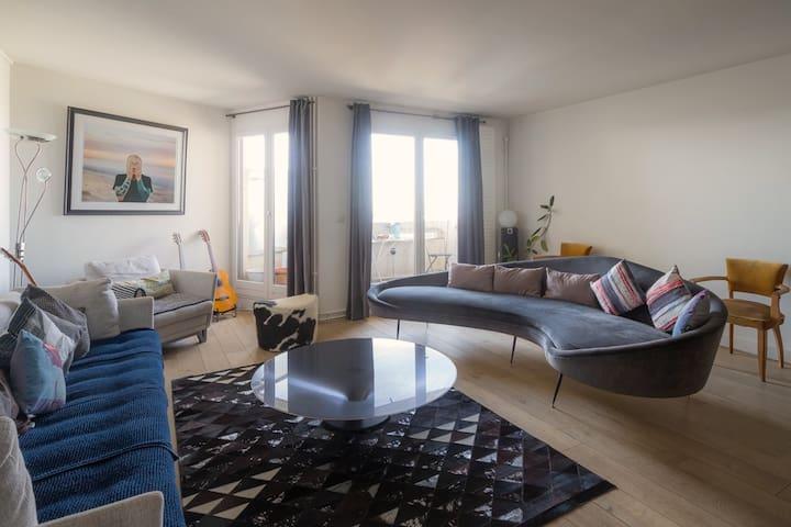 Superbe Loft 200 m² + Terrasse arborée
