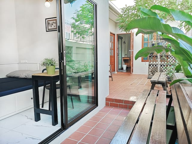 Cozy Garden 🏡⋆3BR⋆ 1min to Khaosan & Grand Palace