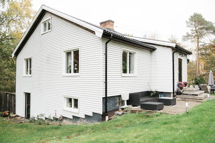 Spacious villa on Lidingö close to Stockholm City