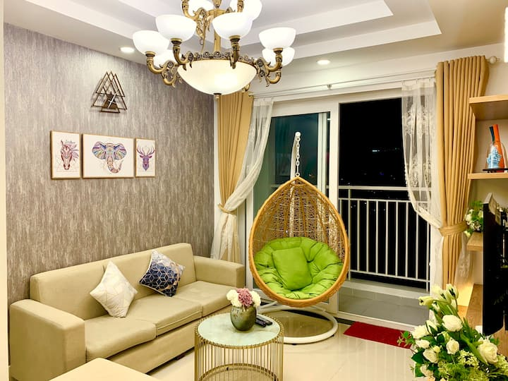Delightful Apartment • City and Sea View