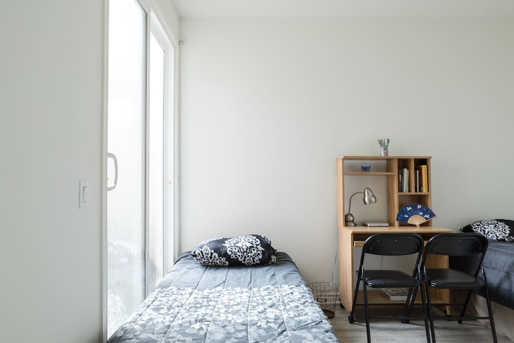 Guest Room: Twin Bed #1