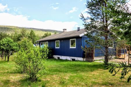 Nordic blue house Måna