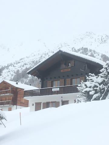 Ski-In and Ski-Out Chalet in Verbier ski resort - Vex - House