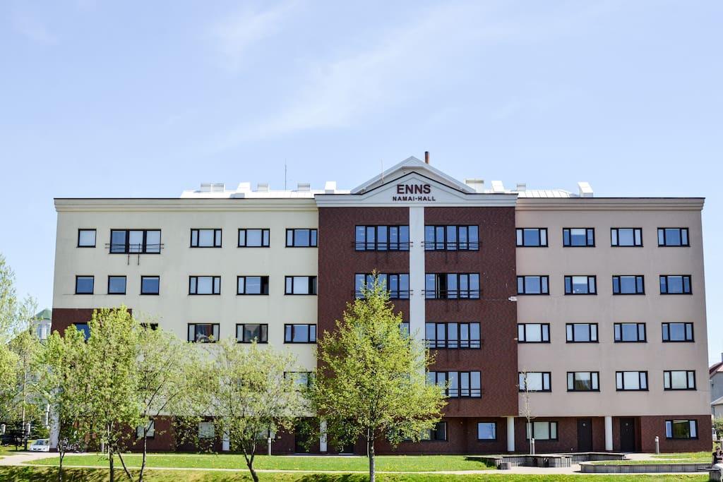 """""""ENNS"""" Residence Hall"""