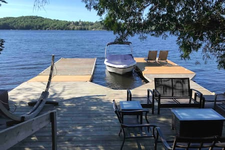 Fairy Lake  with huge dock, toys and large yard