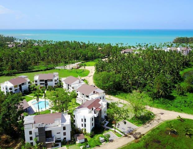 Los Cocos Residences Air view