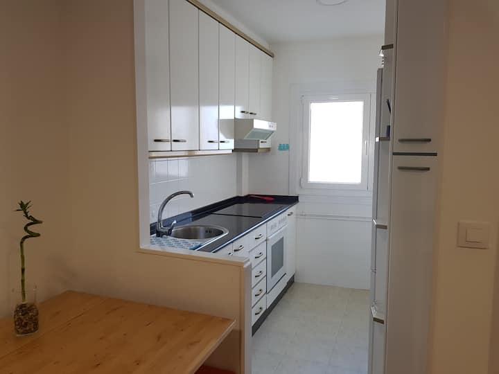 Apartamento completo muy luminoso y confortable